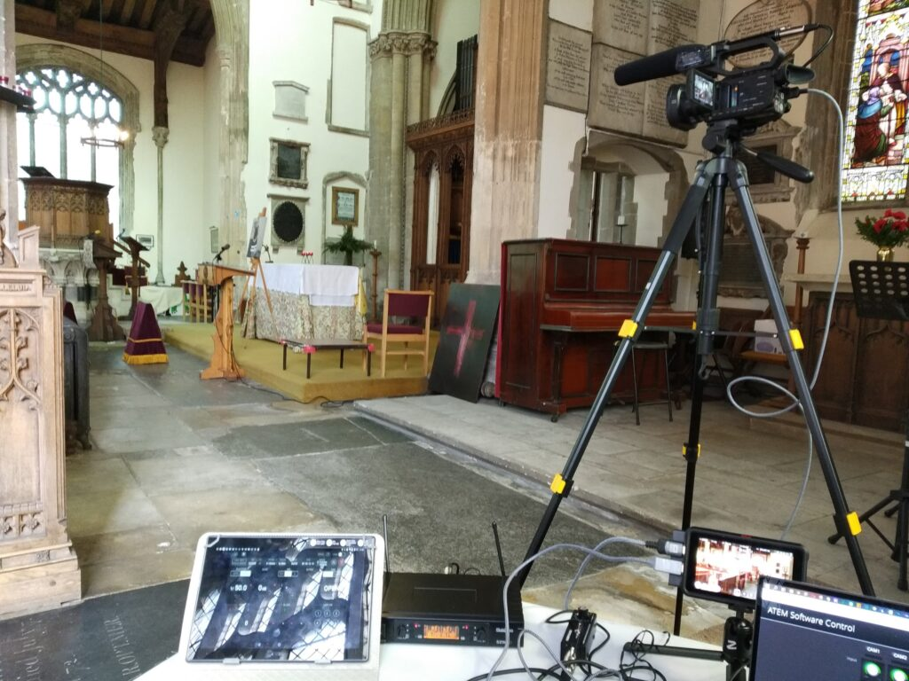 Funeral Live Stream St Marys Church Mildenhall